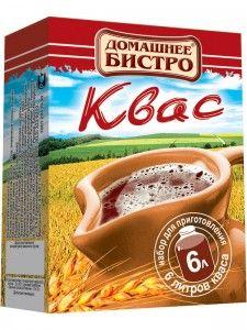 ДОМАШНЕЕ БИСТРО Набор для приготовления кваса картон 84г
