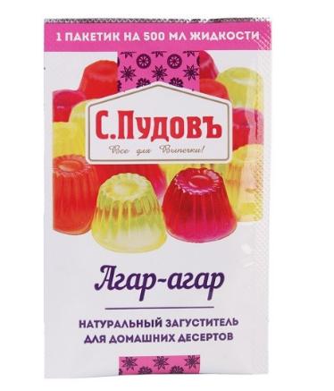 ПУДОВ Агар-агар 7 г
