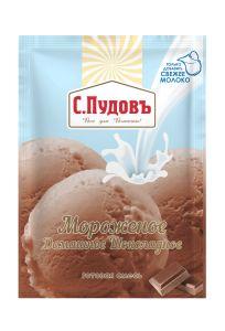 ПУДОВ Мороженое Шоколадное 70г